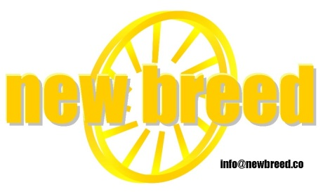 new breed logo - w info email address