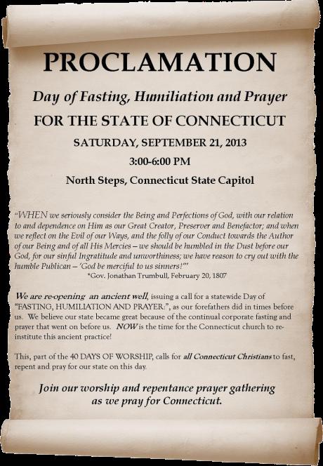 CT proclamation