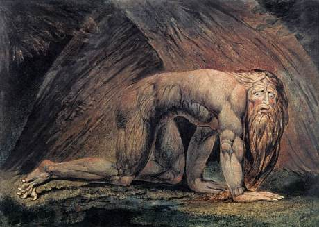 Nebuchadnezzar the animal - William Blake